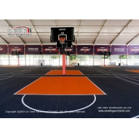 Buy cheap High Tech Aluminum Sport Event Tent Waterproof PVC Roof Cover Glass Haed Walls product