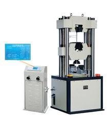Buy cheap LCD Display Servo Hydraulic Testing Machine 13~40mm Circular Sample Clamping Dia product