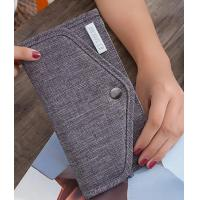 Buy cheap Nylon Material Credit Card Organizer Wallet / Card And Money Holder With Snap Button product