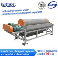 Buy cheap Wet Type Magnetic Drum Separator Wet  Permanent Iron Removing Machine product