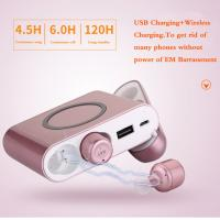 Buy cheap Mini Headset Wireless Bluetooth Earphone HiFi Headphones Wireless Bluetooth Sport Earbuds with Charging Box product