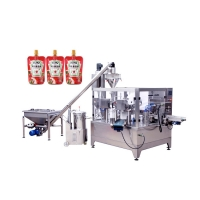 Buy cheap Liquid Powder 45 Pouches / Min PP Automated Packaging Machine product