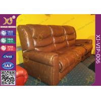 Buy cheap Environment Friendly Home Theater Sofa Electric Reclining Chairs With Bottle Holder product