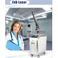 Buy cheap Q Switched Nd Yag Laser Pigmentation Removal Machine With 7 Articular Diaphragm Arm product