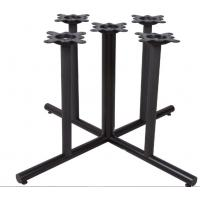 Buy cheap Large Dining Black Metal Table Legs Furniture Bar Table Legs Mild Steel Material product