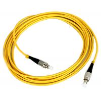 Buy cheap FC Fiber Optic Patch Cord Low insertion loss high return loss product