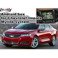 Buy cheap Chevrolet Impala Android Navigation Box , Wifi Mirror Link real time Navigation product