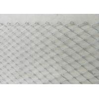 Buy cheap High Strength Rockfall Protection Netting / Slope Stabilization Protective Mesh product