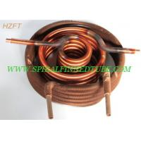 Buy cheap Automotive Engineering Condenser Finned Coil Heat Exchangers  Aluminum / Copper product