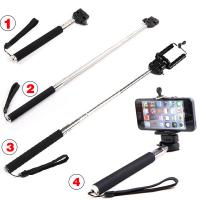 Buy cheap Extendable Monopod Mobile Phone Accessories Holder Stand Clip Tripod Bracket product
