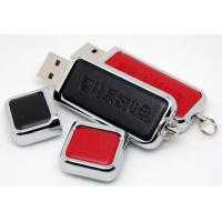 Buy cheap Promotional Huge School Leather USB Flash Drive 32G  64G 128GB  , Leather Memory Stick product
