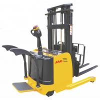 Buy cheap 1.5 Ton Forklift Reach Stacker , Single Scissor Forward Warehouse Stand Up Forklift product