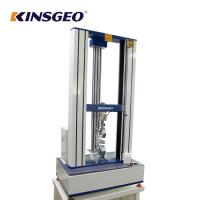 Buy cheap AC Motor Fabric Universal Testing Machines With Double Column 1 Year Warranty from wholesalers