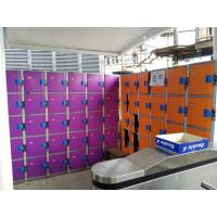 Buy cheap Plastic Gym Lockers Wtih Master Combination Padlock , 4 Tier Employee Storage Lockers product