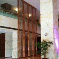 Buy cheap Brushed stainless steel screen surface anti-fingerprints processed bronze plating Screen product