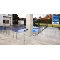 Buy cheap Hot sale frameless clear tempered glass fence with stainless steel post product