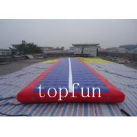 Buy cheap Airtight Inflatable Mat Hot Air Welded 0.6mm PVC Coated Tarpaulin product