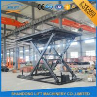 China 3M Super Steady Small Car Lift Scissor Used Car Hoist Lift With CE on sale