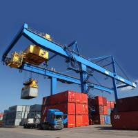 Buy cheap Cargo Seaport Container Gantry Crane  / 45T Rubber Tyred Gantry Crane product