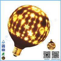 China LED christams ball decorations hanging glass ball light wholesale