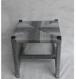 Chaise en osier classique de place de rotin pour d'intérieur et extérieur