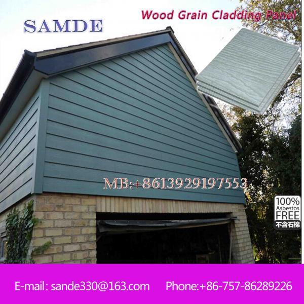 Exterior Fiber Cement Decorative Cladding Wall Board