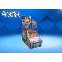 Buy cheap 4 Levels Arcade Basketball Game Machine Colorful Digital Tube Display product