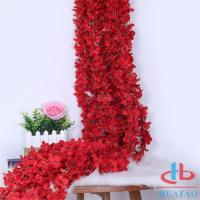 Buy cheap Decoration Artificial Flower Wall For Decoration , Fake Red Roses product