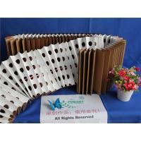 Buy cheap 18kg/m² Dust Holding Dry Type Pleated Paper Filter Folded Brown Kraft Paper product
