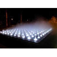 Buy cheap Garden Decoration Misting Lighted Fountain , Indoor Stage Fog Mist Fountain product