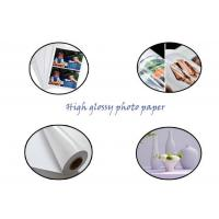 Buy cheap Wood Pulp Material High Glossy Photo Paper For Making Printing product