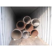 Buy cheap Heat Treated High Pressure Carbon Steel PipeSeamless Structure ASTM A106 Standard product