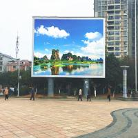 Buy cheap 120° Viewing Angle Full Color LED Display Board P10 DIP346 Epistar Chip 300-750w from wholesalers