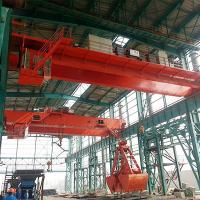 China Overhead Grab Crane Warehouse High Duty Electric Hydraulic for Scrap Meter on sale