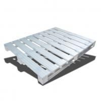 Buy cheap Warehouse Stackable Metal Pallets / Euro Standard Stainless Steel Pallet from wholesalers