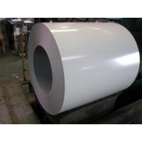 Buy cheap Hot dip galvanized / galvalume Pre painted steel coil with high - strength structure product