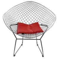 China Durable Mesh Stainless Steel Outdoor Chairs Furniture , Eco Friendly on sale