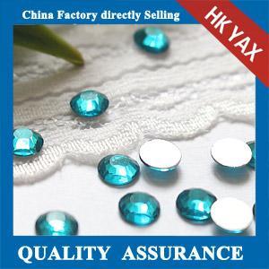 Buy cheap Blue Zircon flat back non hotfix crystal stone wholesale product