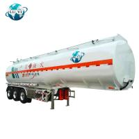 Buy cheap 3 axles 36000 litres 42000 Liters liquid Semi tanker Trailer for diesel oil  Fuel Oil storage product