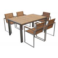 China Stainless Steel Solid Wooden Outdoor Furniture High End With OEM / ODM Special Offer on sale
