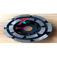 Buy cheap 100mm diamond grinding wheels for polishing marble,granite and concrete and get high gross degree product