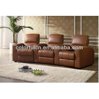 Cream Leather Lazy Boy Recliner Chair Decoro Leather Sofa
