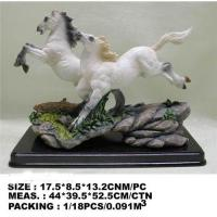 China Resin horse statue;horse figurine;horse crafts on sale