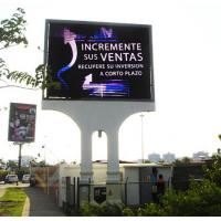 Buy cheap P16 outdoor DIP LED display LED screen sign front service for video wall advertising from wholesalers