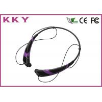 Buy cheap Bluetooth Handsfree Headset , Bluetooth Cellphone Headset Noise Reduction product