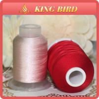 Buy cheap Red High Tenacity 120d 2 Viscose 100% Rayon Embroidery Threads for Machines product