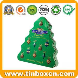 Buy cheap クリスマスのギフトの錫箱、円形の缶、www.tinboxcn.comの正方形の錫箱 product