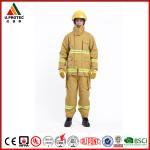 Buy cheap EN469 Firefighter Uniforms Fireman Turnout Gear Yellow Orange Navy Blue Custom Color product