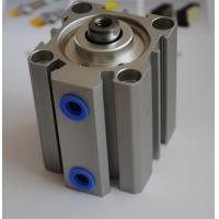 Buy cheap Thin type small pneumatic cylinders Aluminum Alloy , Compact Air Cylinder product
