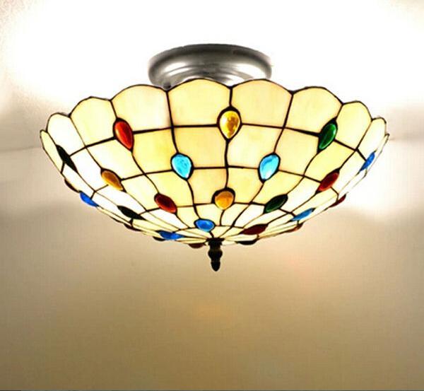 Mediterranean Style Lighting: Mediterranean Style Ceiling Lamp Warm And Sweet Bedroom